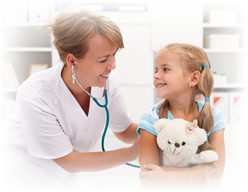 Doctor treats child